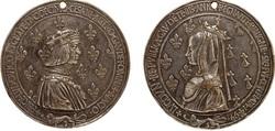 Photo 1 - La médaille d'Anne de Bretagne et de Louis XII