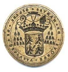 Le sceau de Gilles de Beauvau évêque de Nantes